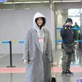 Lanvin灰色大衣简约时尚