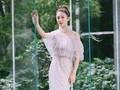 张雨绮长裙造型展现低调性感,甜美清新的仙子来了