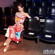 张嘉倪受邀出席米兰时装周  百变造型尽显魅力型格