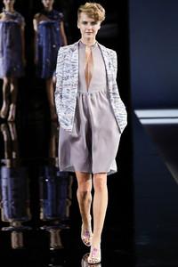 2014米兰时装周Giorgio Armani春夏时装发布