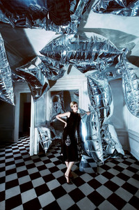 Dior大片优雅女性