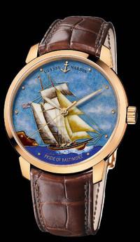 雅典表Ulysse Nardin限量手表