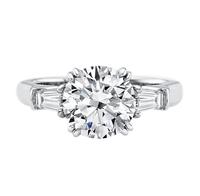 海瑞温斯顿女人的心 珠宝戒指