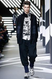 Y-3 巴黎2014秋冬系列男装秀