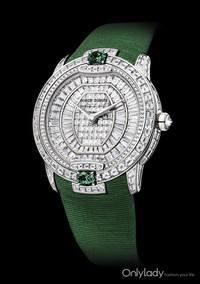 罗杰杜彼推出全新Velvet Haute Joaillerie腕表