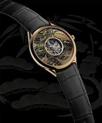 江诗丹顿莳绘系列腕表:龟与莲花款