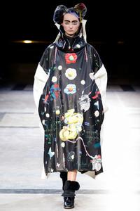 Yohji Yamamoto 巴黎2014秋冬系列时装秀