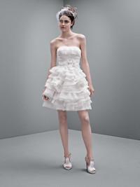 Vera Wang白色时尚婚纱抢先看