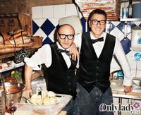 和Dolce & Gabbana共进晚餐
