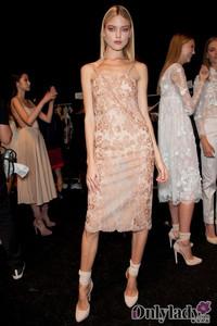 揭秘Jill Stuart2013纽约春夏时装周后台风光