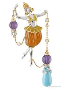 梵克雅宝舞会传奇系列珠宝 光华璀璨的舞会盛宴