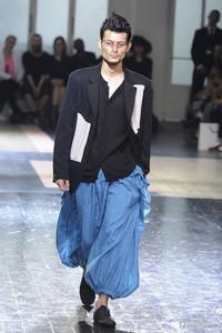 Yohji Yamamoto 2013春夏巴黎男装周秀场
