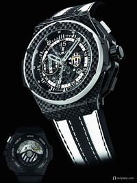 宇舶表2013巴塞尔新品 尤文图斯限量腕表