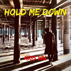 吴亦凡新专辑第二支中文单曲《Hold Me Down》封面曝光  上演背影杀