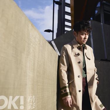 雷佳音登《OK!精彩》杂志封面 展现硬朗与帅气