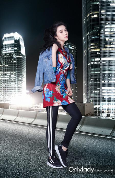 范冰冰拍摄adidas Originals广告大片 陈奕迅、吴亦凡、杨颖展现街头