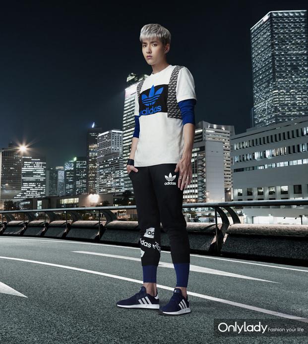 范冰冰拍摄adidas Originals63沙龙娱乐城手机告白大片 陈奕迅、吴亦凡、杨颖展示陌头活动作风