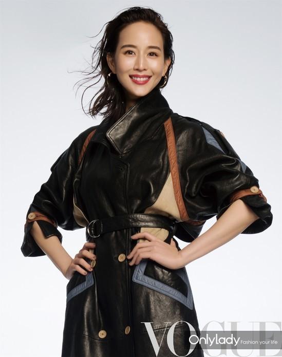 张钧甯杂志大片引领秋冬时尚 造型气质皆满分