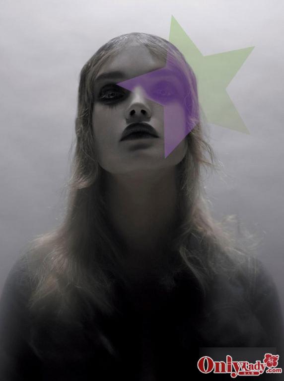 超模 杂志 娃娃脸 妆容/Natalia Vodianova 娃娃脸超模杂志妆容11/22