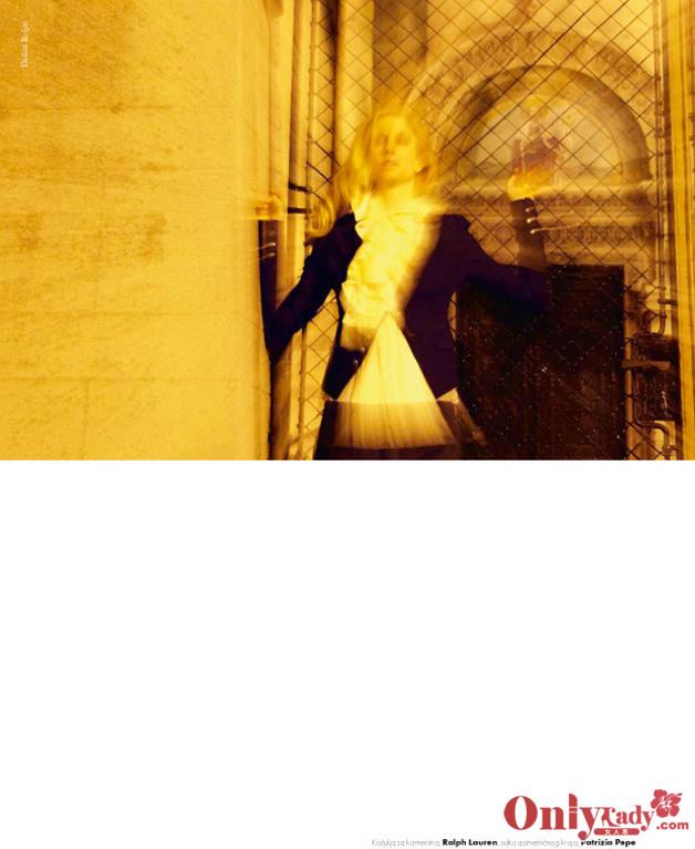 诱惑 西班牙/暗夜诱惑 娜塔莎·沃佳诺维可《elle》西班牙10/12