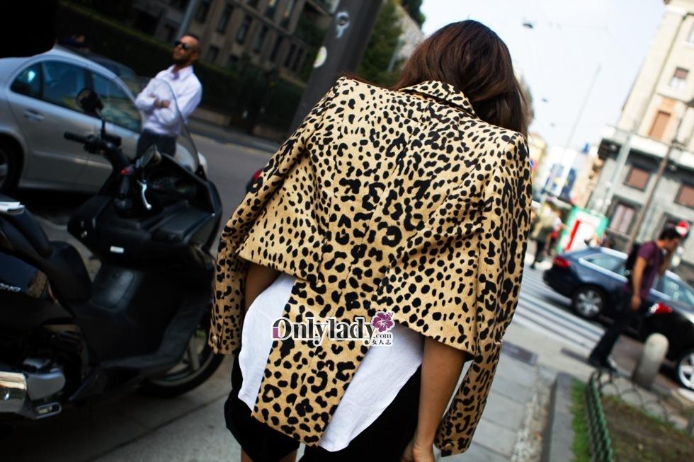 米兰/2012春夏米兰时装周场外街拍 138/242