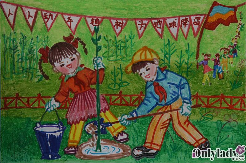 中国儿童环保教育计划获奖作品